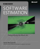 Software Estimation book cover image
