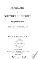 Geography of southern Europe