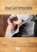 Acoustic Guitar Technique Exercise