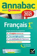 Pdf Annales du bac Annabac 2021 Français 1re technologique Telecharger