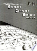 Selected Computer Articles