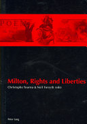 Milton, Rights and Liberties