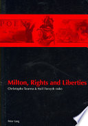 Milton  Rights and Liberties