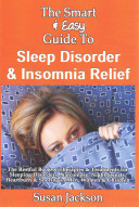 Easy Guide to Sleep Disorder   Insomnia Relief Book
