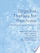 Cognitive Therapy For Psychosis