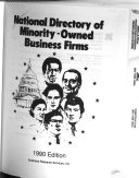 National Directory of Minority owned Business Firms
