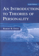 An Introduction to Theories of Personality Book PDF