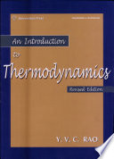 An introduction to thermodynamics
