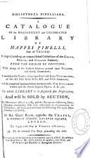 Bibliotheca Pinelliana