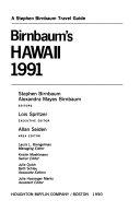 Birnbaum s Hawaii  1991