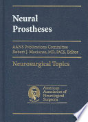 Neural Prostheses Book