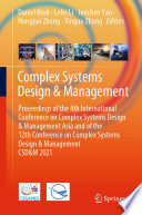 Complex Systems Design   Management