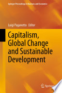 Capitalism  Global Change and Sustainable Development