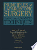 """Principles of Laparoscopic Surgery: Basic and Advanced Techniques"" by Maurice E. Arregui, Robert J. Jr. Fitzgibbons, Namir Katkhouda, J. Barry McKernan, Harry Reich"