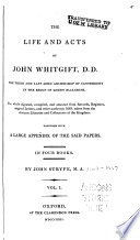 The life and acts of John Whitgift, Book 1-3