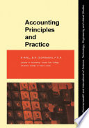 Accounting Principles and Practice Book