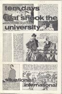 Ten Days that Shook the University Book