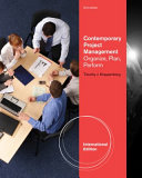 Contemporary project management   organize  plan  perform