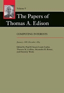 The Papers of Thomas A  Edison