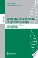 Computational Methods in Systems Biology Book