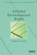 A Global Environmental Right Pdf/ePub eBook