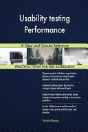 Usability Testing Performance A Clear And Concise Reference Book PDF