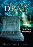 When the Dead Speak to Us Pdf/ePub eBook