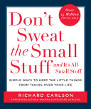 Don't Sweat the Small Stuff and It's All Small Stuff