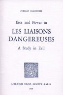 Eros and Power in Les Liaisons Dangereuses