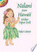 Nalani from Hawaii Sticker Paper Doll
