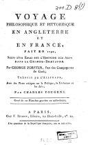 Voyage philosophique & pittoresque en Angleterre et en France fait en 1790