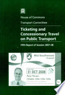 Ticketing and Concessionary Travel on Public Transport Book