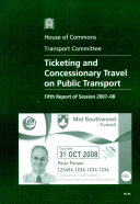 Ticketing and Concessionary Travel on Public Transport