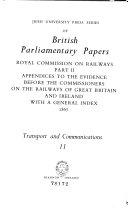 Irish University Press Series of British Parliamentary Papers