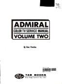 Admiral Color TV Service Manual ebook