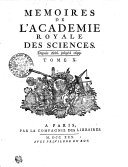 MEMOIRES DE L'ACADEMIE ROYALE DES SCIENCES.