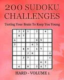 200 Sudoku Challenges   Hard   Volume 1