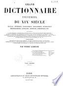 Grand dictionnaire universel du XIXe siècle