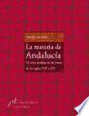 La materia de Andalucía
