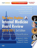 Internal Medicine Board Review 2010 2011