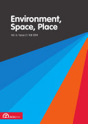 Pdf Environment, Space, Place, Volume 6, Issue 2 (Fall 2014) Telecharger