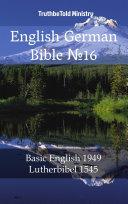 English German Bible No16
