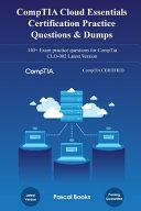 CompTIA Cloud Essentials Certification CLO 002 Practice Questions   Dumps