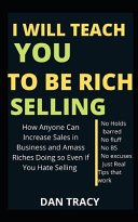 I Will Teach You To Be Rich Selling Book PDF