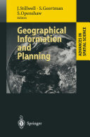 Pdf Geographical Information and Planning Telecharger