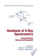 Handbook of X-Ray Spectrometry, Second Edition,
