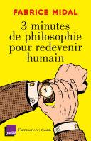 Pdf 3 minutes de philosophie pour redevenir humain Telecharger