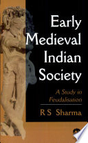 Early Medieval Indian Society (pb)