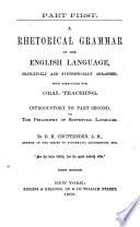 A Rhetorical Grammar of the English Language