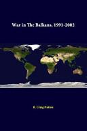 War in the Balkans, 1991-2002